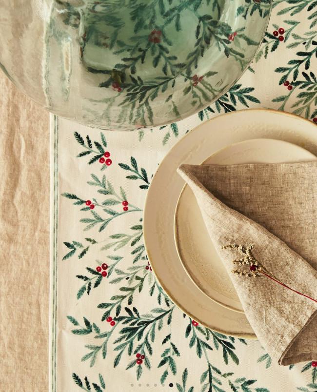 Bieżnik na świąteczny stół