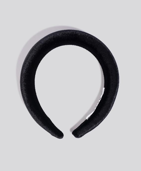 Screenshot_2019-11-21 Puff Velvet Hairband Czarny
