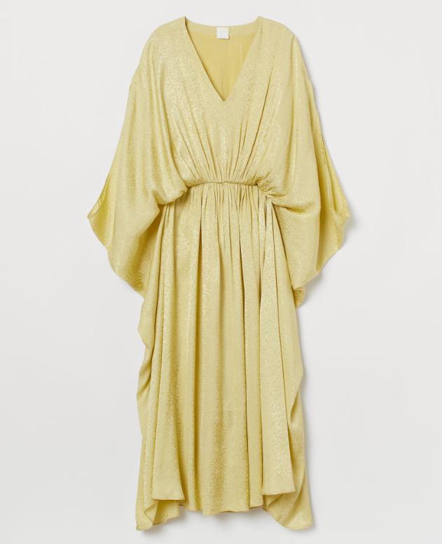 Screenshot_2020-01-14 Tunikowa sukienka - Żółty - ONA H M PL