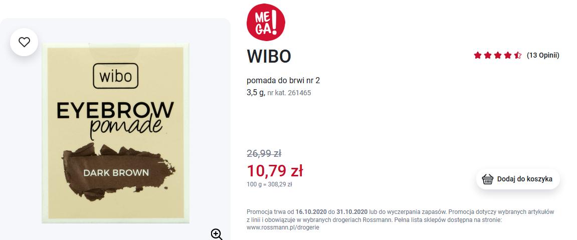 Screenshot_2020-10-30 WIBO, pomada do brwi nr 2, 3,5 g Drogeria Rossmann pl