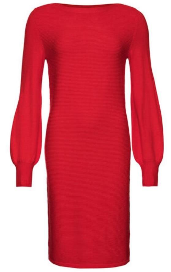 sukienka czerwona lidl