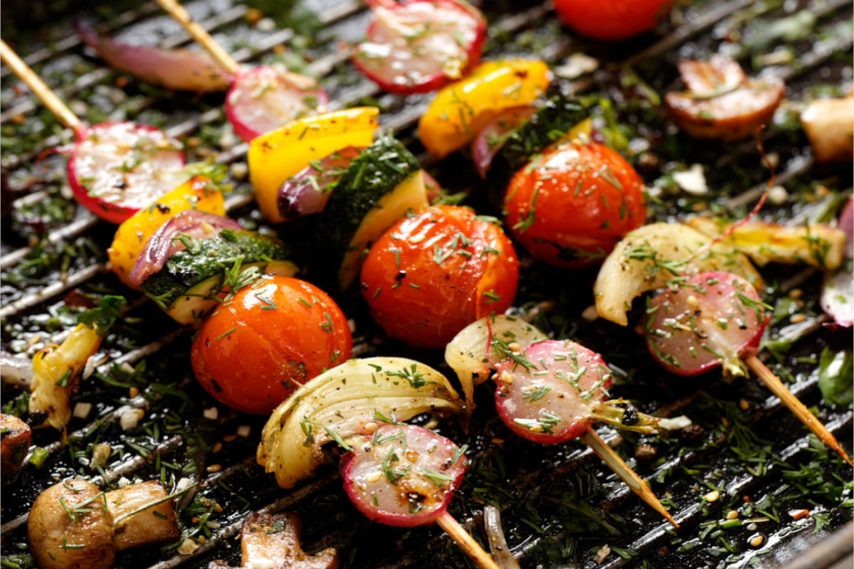 Szaszłyki z warzyw
