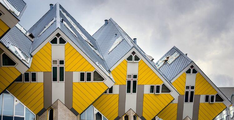 Cube Houses w Holandii