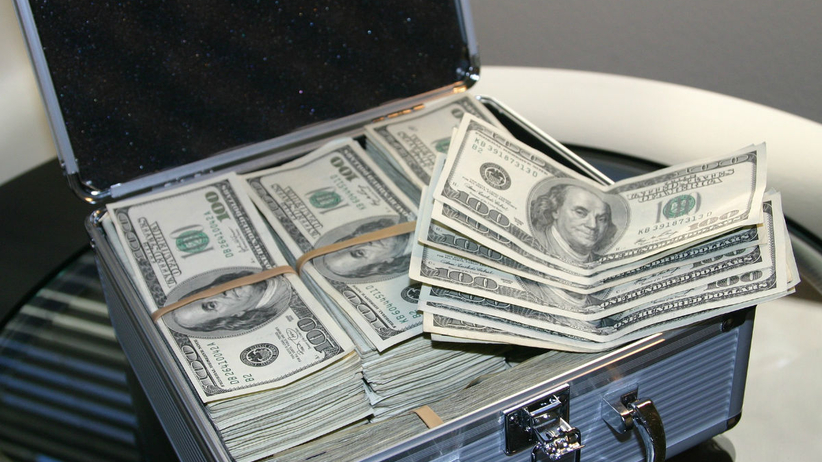 pieniądze we śnie