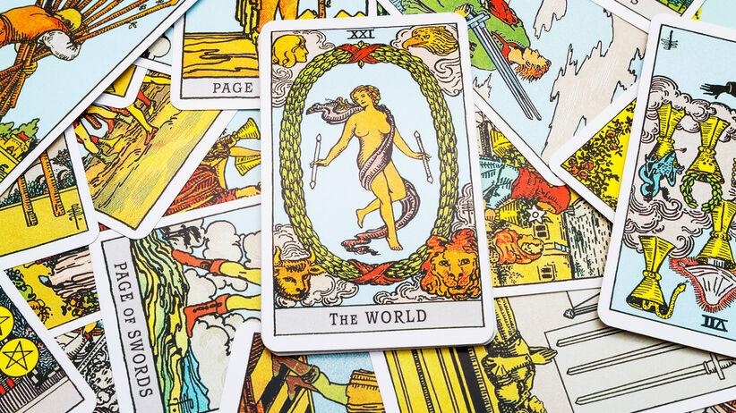 karta tarota świat