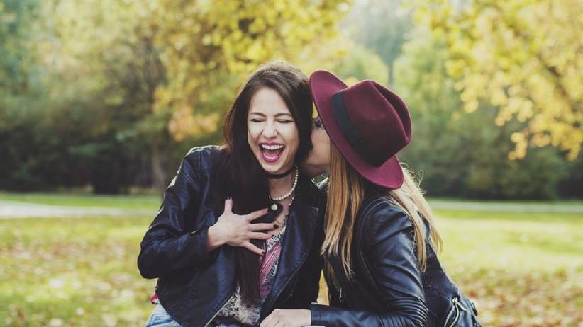 Uśmiechnięte kobiety