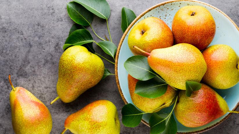 gruszki zdrowe owoce
