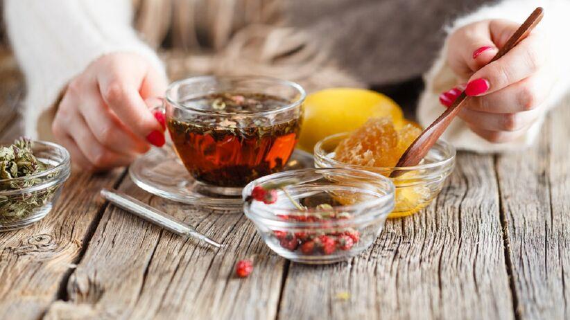 Herbata z miodem