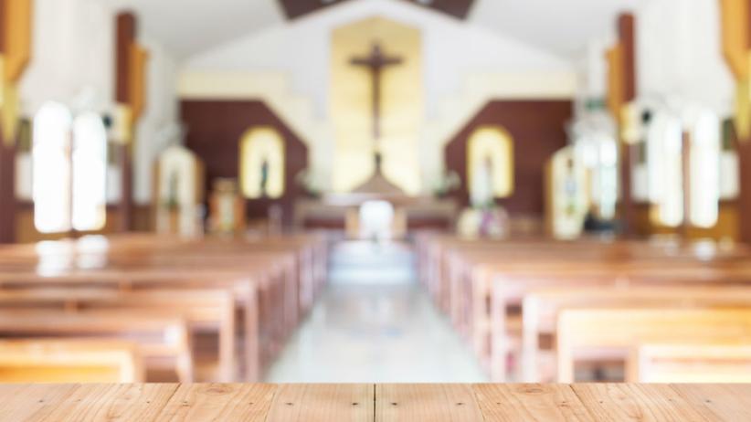 kościół we śnie