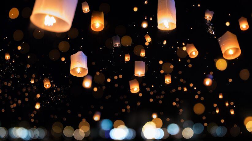 Lampiony papierowe