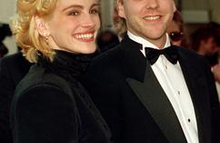 Julia Roberts i Kiefer Sutherland Julia Roberts uciekła z przyjacielem pana młodego