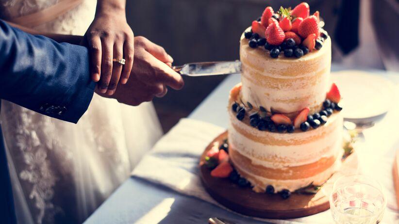 Ozdoby na tort weselny