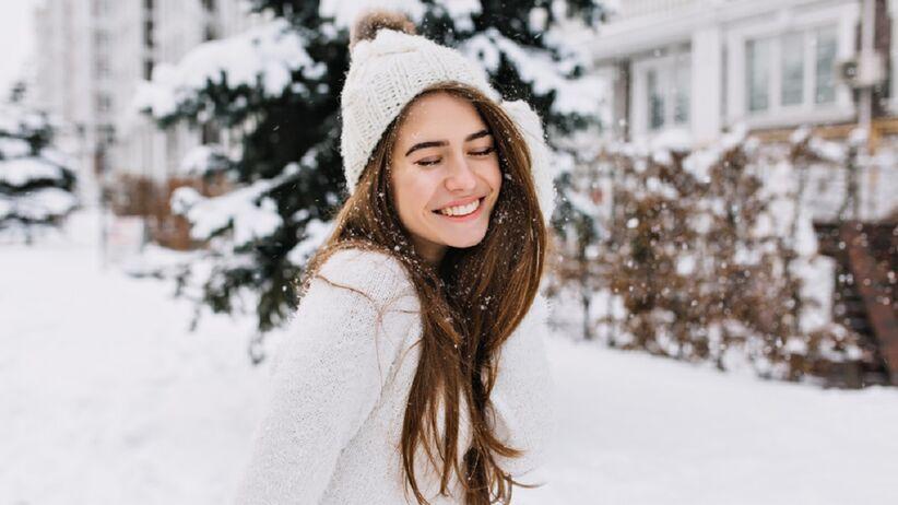 Modna fryzura na zimę