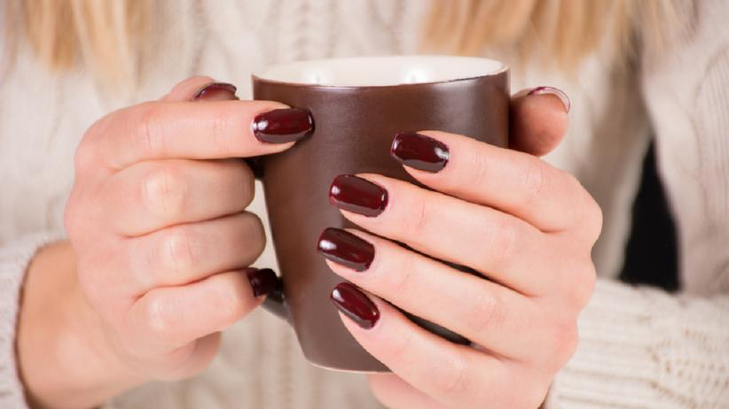 Paznokcie black coffee