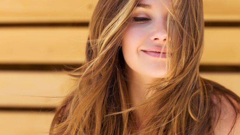 Włosy po naturalnej kuracji.