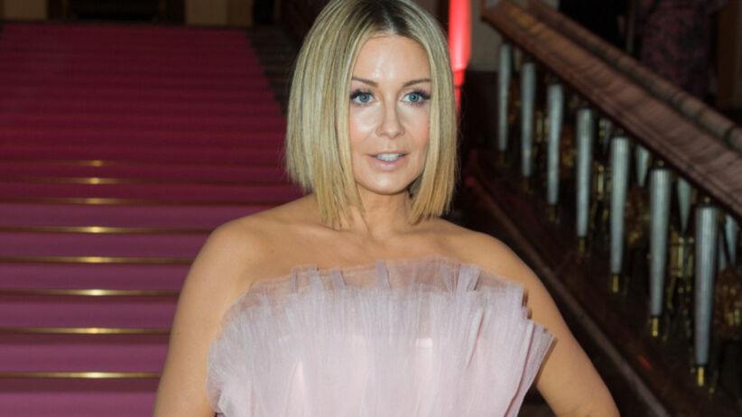 Małgorzata Rozenek-Majdan w różowej sukience w stylu tutu