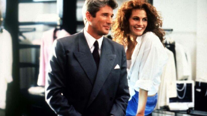 "Julia Roberts i Richard Gere w ""Pretty Woman"""