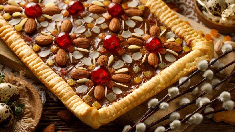 dekoracja mazurka wielkanocnego