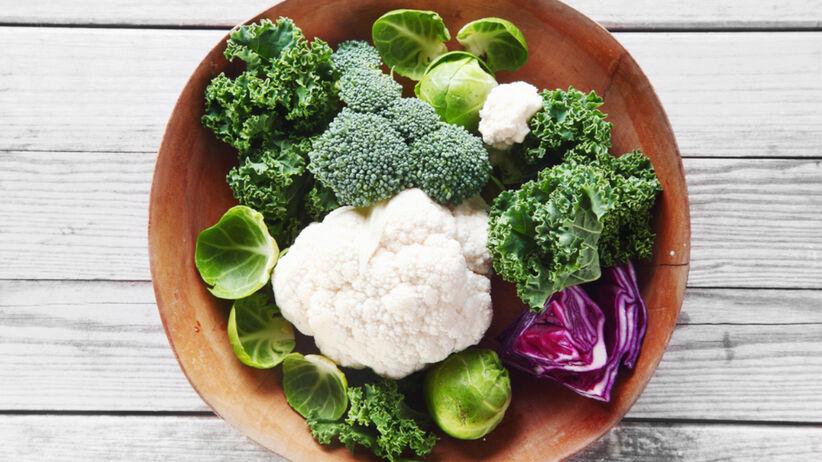 Rozmrożone warzywa w misce