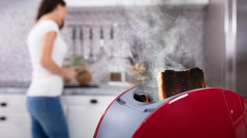 triki kuchenne na spalone dania