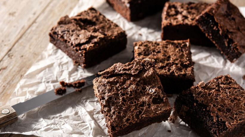 Brownie z cukinii - prosty przepis