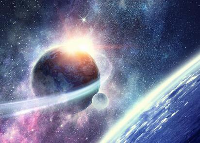 Sądzisz, że niebo jest niebieskie tylko nad Ziemią? Ten widok może cię zaskoczyć
