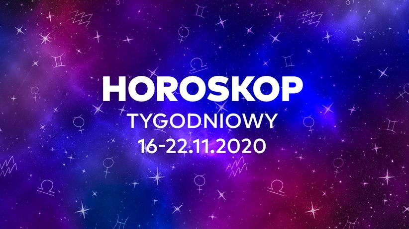 Horoskop tygodniowy od 16 do 22 listopada 2020