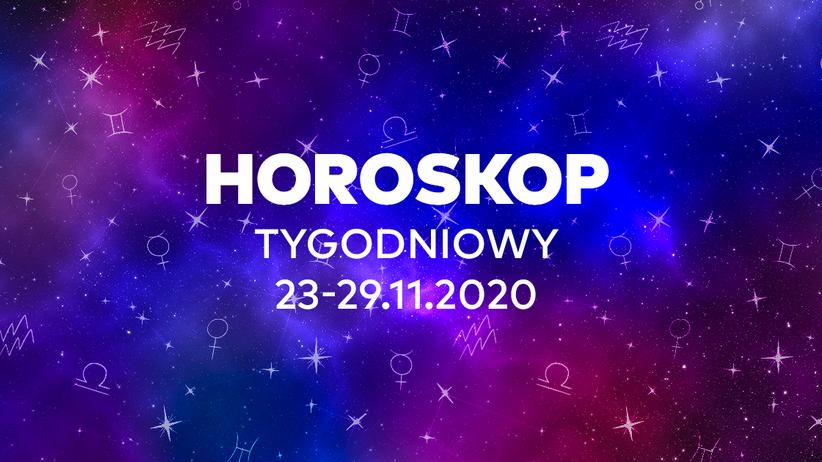 Horoskop tygodniowy od 23 do 29 listopada 2020 dla wszystkich znaków zodiaku