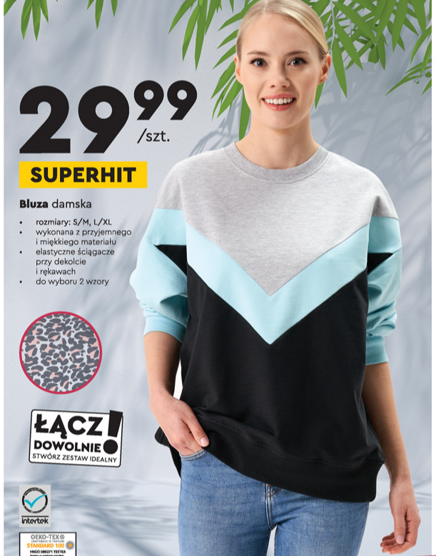 bluza biedronka