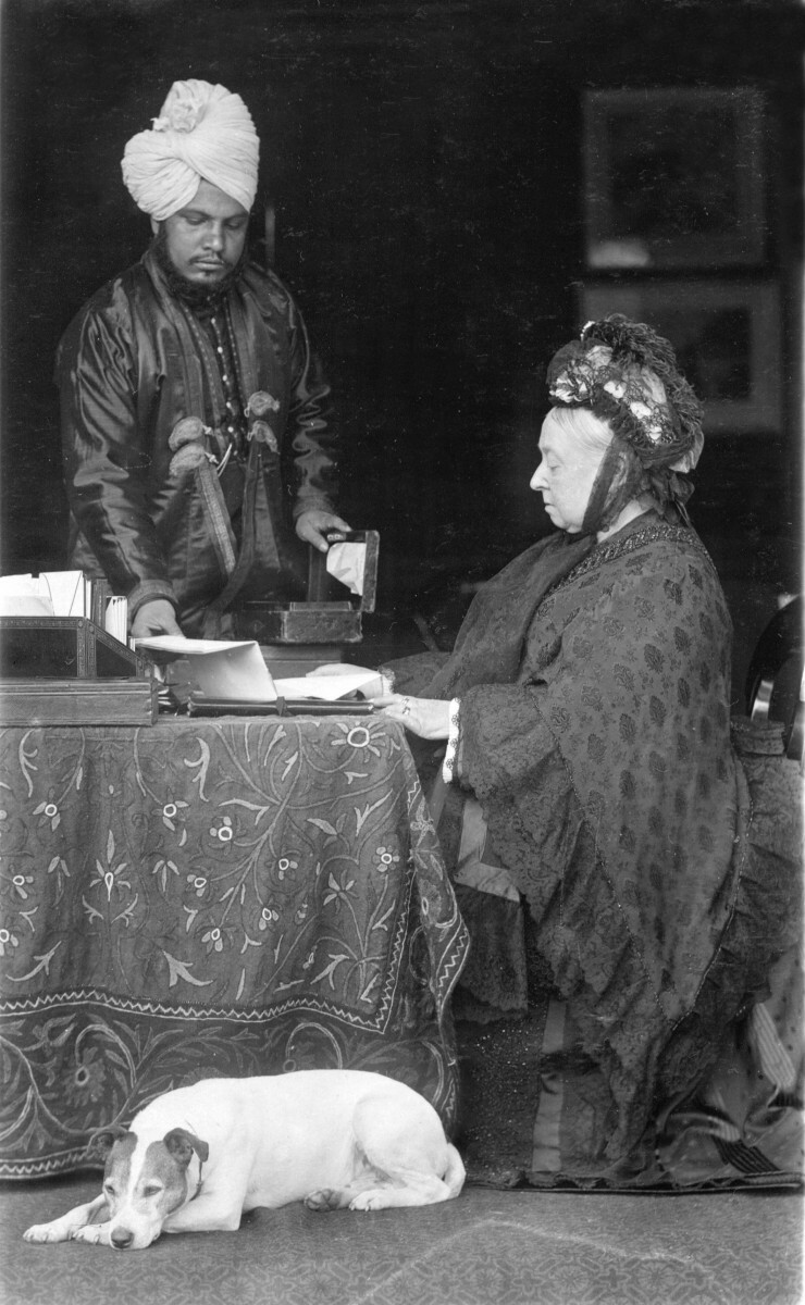 Królowa Wiktoria i Abdul Karim