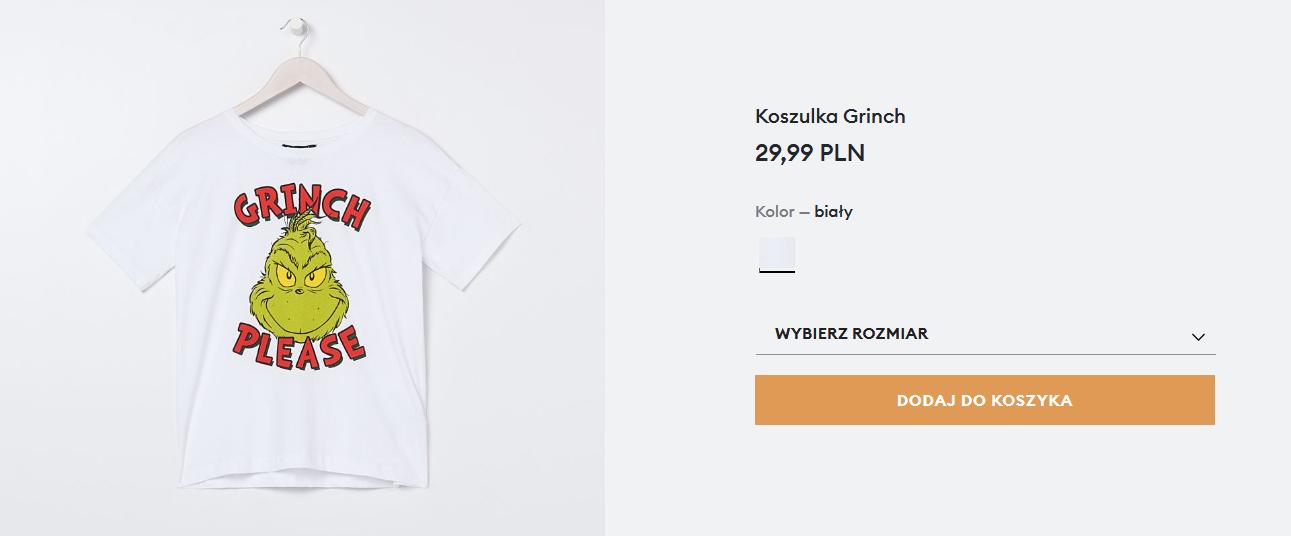 Screenshot_2020-11-26 Koszulka Grinch, SINSAY, 2221A-00X