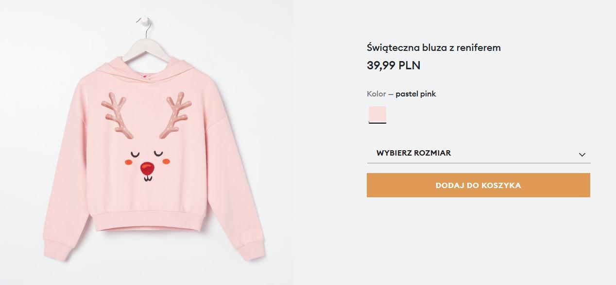 Screenshot_2020-11-26 Świąteczna bluza z reniferem, SINSAY, YZ407-03X