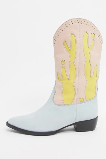 Screenshot_2021-01-21 ASOS DESIGN – Pastelowe skórzane kowbojki Cactus ASOS