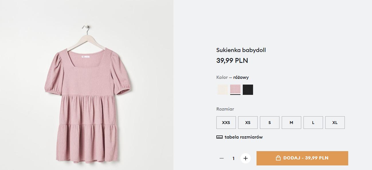 Screenshot_2021-02-25 Sukienka babydoll, SINSAY, 1372B-03X