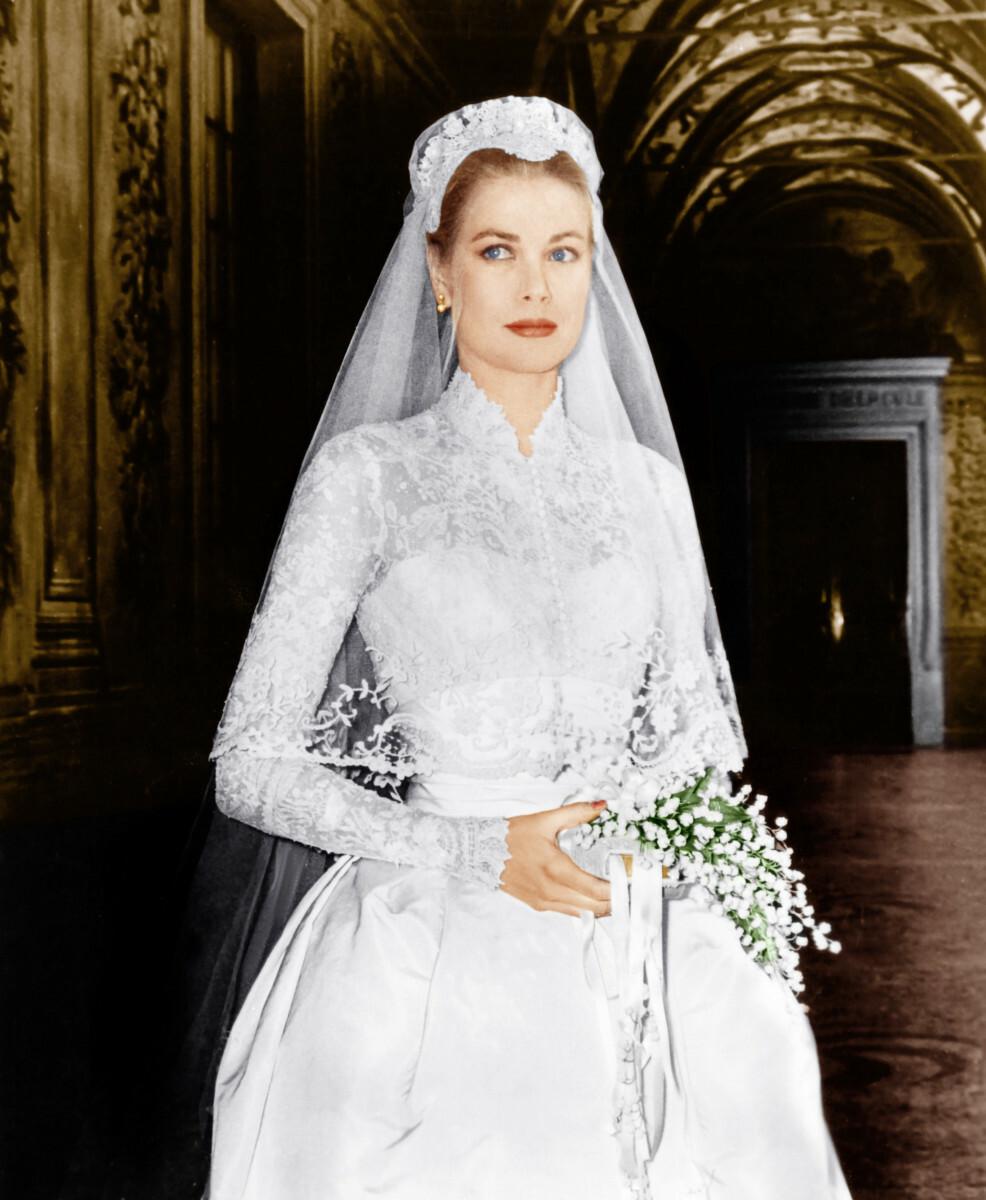 Suknia ślubna Grace Kelly