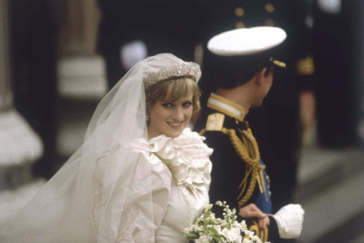 Tiara ślubna księżnej Diany