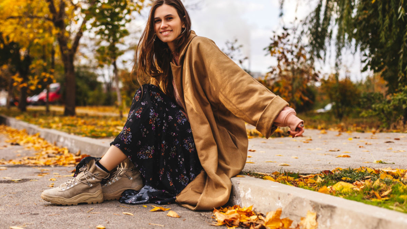 sieć sklepów zara sukienka na jesień i zimę