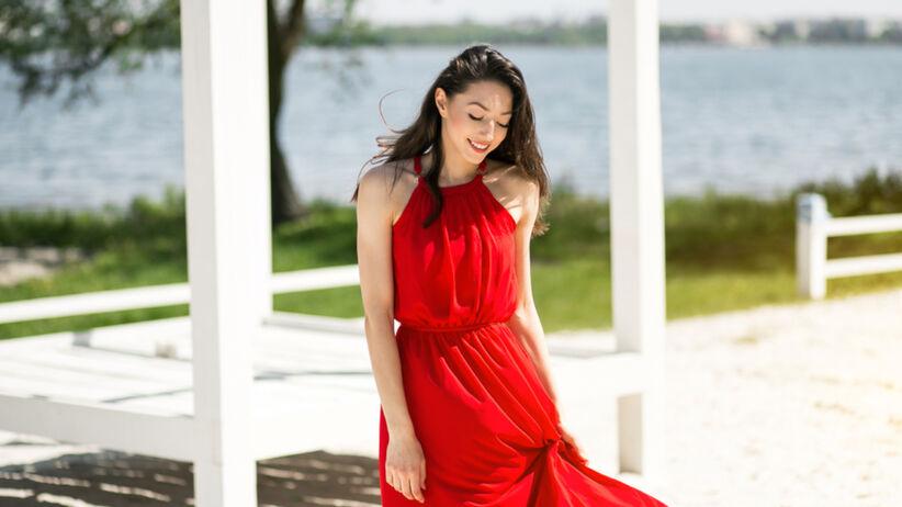 Modna sukienka na lato z Lidla - na plażę, do pracy, na wesele
