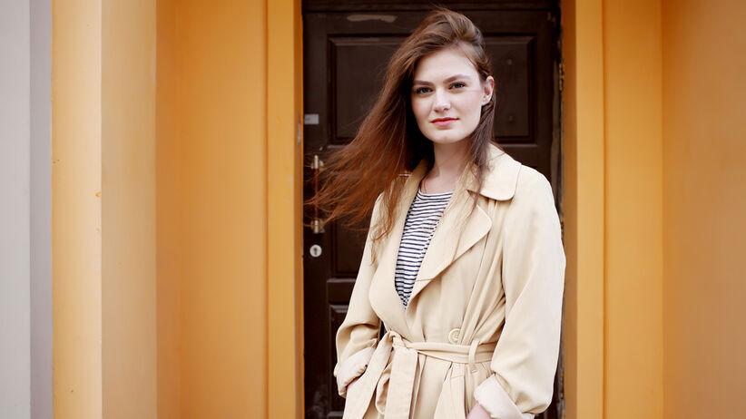 modny płaszcz