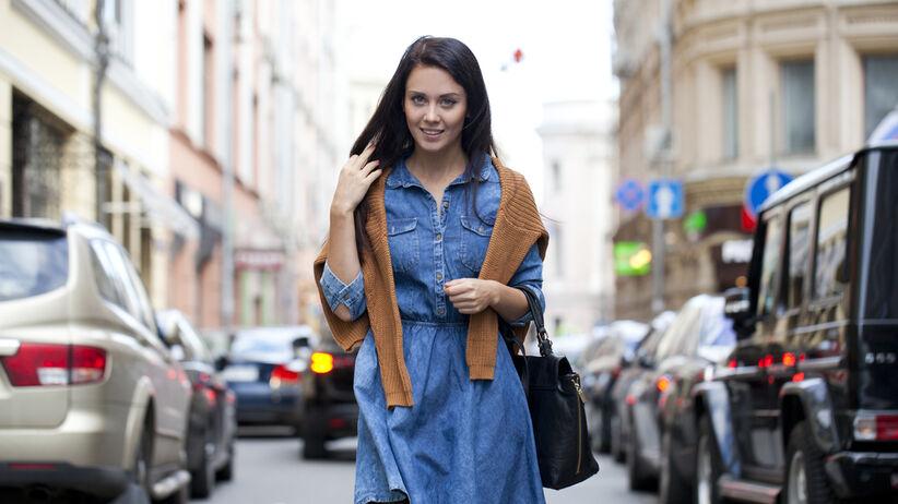 jeansowa sukienka z pepco