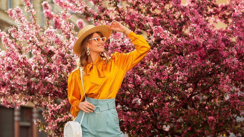 Modna koszula na wiosnę