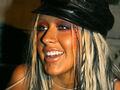 Christina Aguilera w mocnym makijażu w 2002 roku