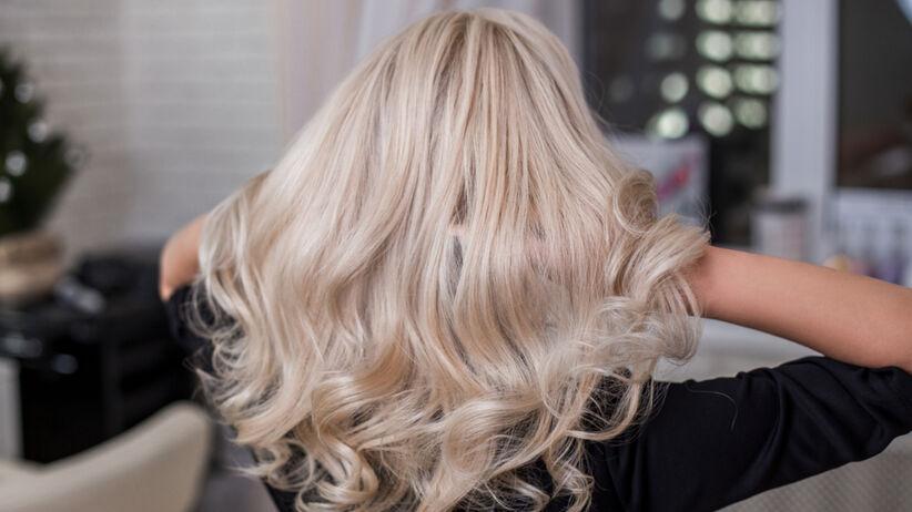 Lśniące włosy po domowej pielęgnacji