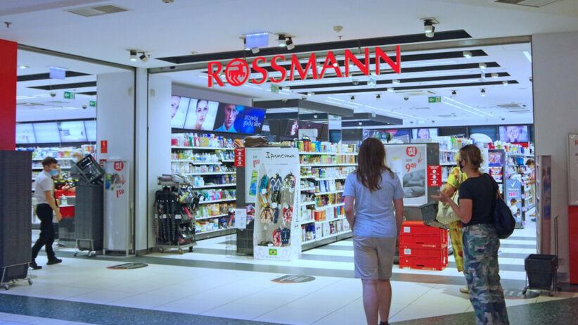 Drogeria Rossmann w galerii handlowej