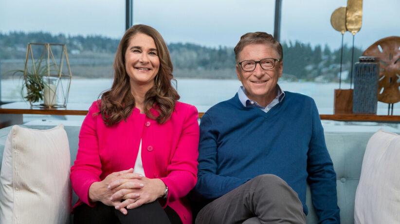 Melina i Bill Gates razem na kanapie