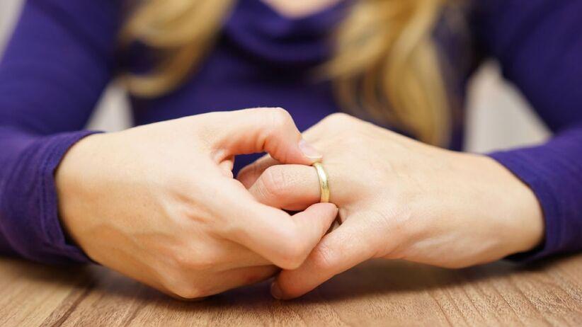 Proces rozpadu małżeństwa jest długofalowy.