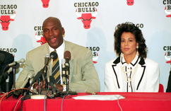 Juanita i Michael Jordanowie Juanita i Michael Jordanowie