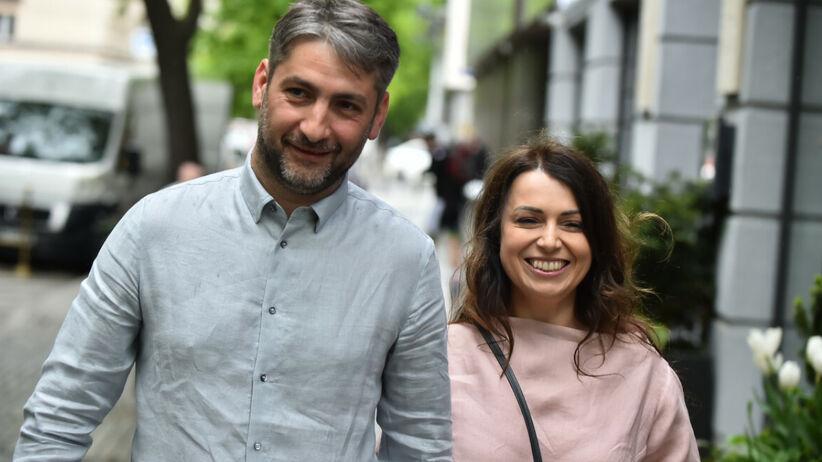 Katarzyna Pakosińska i jej mąż Irakli Basilashvili, który jest Gruzinem