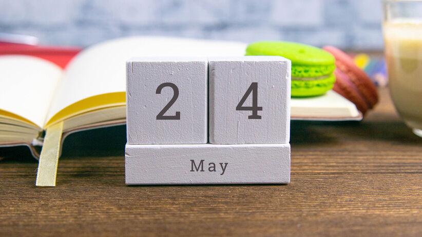 Imieniny 24 maja – kartka z kalendarza