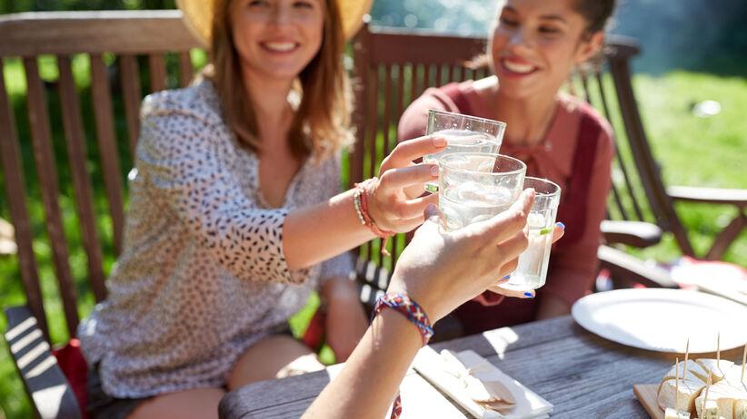 orzeźwiający drink na lato
